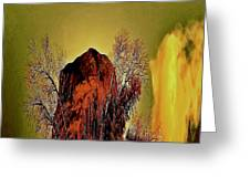Theophany Greeting Card