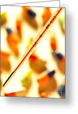 Thermometer Whigh Fever Greeting Card