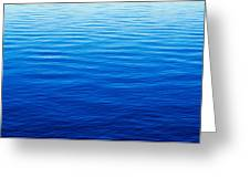 These Are Water Reflections In Lake Greeting Card