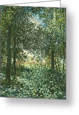 Thicket  The House Of Argenteuil Greeting Card