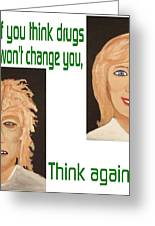 Think Again Greeting Card