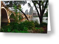 Third Avenue Bridge Greeting Card