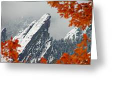 Third Flatiron Greeting Card