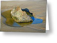 Third Study Of A Rock Greeting Card