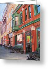 Third Ward - Swig And Palm Greeting Card