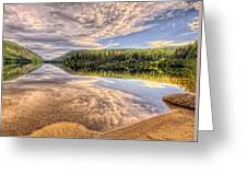 This Is British Columbia No.28 - Conkle Lake Greeting Card