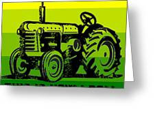 This Is How I Roll Tractor Tee Greeting Card