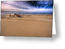 This Is Oregon State No.17 - Florence Beach Greeting Card by Paul W Sharpe Aka Wizard of Wonders