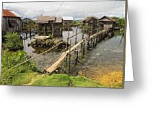 This Is The Philippines No.10 - Pilar Fishing Village Greeting Card