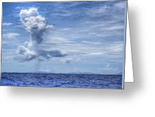 This Is The Philippines No.11 - Towering Clouds Greeting Card
