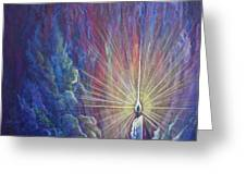 This Little Light Of Mine Greeting Card by Nancy Cupp