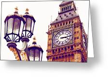 This Time Tomorrow Greeting Card