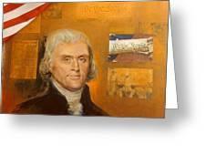 Thomas Jefferson Greeting Card