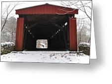 Thomas Mill Road Covered Bridge Greeting Card
