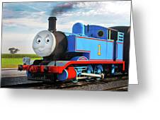 Thomas The Train Greeting Card