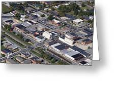 Thomasville Nc Aerial Greeting Card