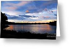 Thompson Lake 3 Greeting Card