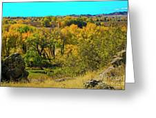Thompson Valley Overlook Greeting Card