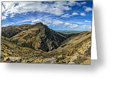 Thomson Gorge Greeting Card