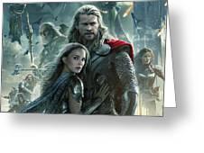 Thor 2 The Dark World 2013 Greeting Card