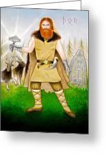 Thor Odinsson Greeting Card