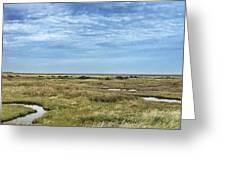 Thornham Marshes, Norfolk Greeting Card