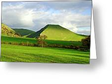 Thorpe Cloud From Bunster Hill Greeting Card