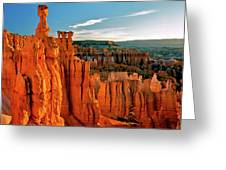 Thor's Hammer Bryce Canyon National Park Greeting Card