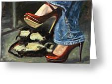 Those Shoes Greeting Card