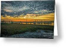 Those Southern Sunsets Greeting Card