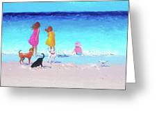 Those Summer Days Greeting Card