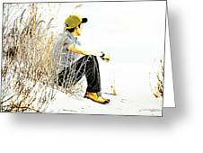 Thoughtful Youth 6 Greeting Card