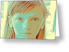 Thoughtful Youth Series 33 Greeting Card