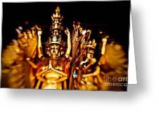 Thousand Hands Buddha Greeting Card