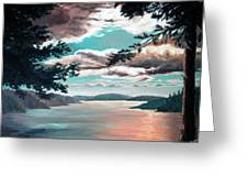 Thousand Island Sunset Greeting Card