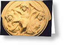 Three Angels  Greeting Card by Larkin Chollar