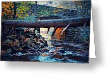 Three Bridges  Greeting Card