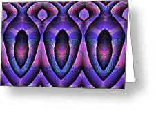 Three Coffins Greeting Card