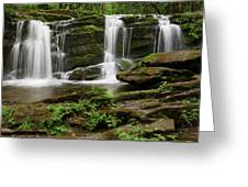 Three Falls Of Tremont Greeting Card