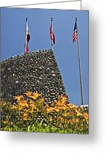 Three Flags In Memphis Tennessee Greeting Card