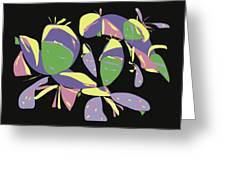 Three Geishas Greeting Card