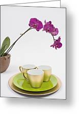 Three Gold Cups Greeting Card