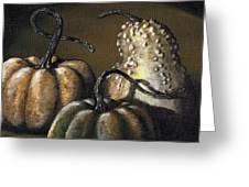 Three Gourds Greeting Card