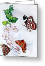 Three Is A Charm Greeting Card