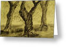 Three Is As Tree Gets Greeting Card