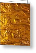 Three Lions Greeting Card