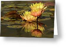 Three Perfect Lilies Greeting Card