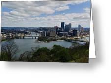 Three Rivers Greeting Card