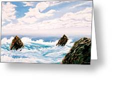 Three Rocks Greeting Card