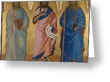 Three Saints Greeting Card